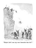 """Despots don't come any more benevolent than this"" - New Yorker Cartoon"