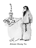 Alchemist Brewing Tea - New Yorker Cartoon