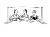 """""""Helen  is it possible that we are using our child as an intimacy barrier"""" - New Yorker Cartoon"""
