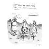 THE PROPHET WHO CHANGED WATER INTO DIET GRAPEFRUIT SODA - New Yorker Cartoon