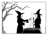 """""""Does this poison smell weird to you"""" - New Yorker Cartoon"""