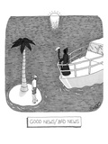 Good news/bad news - New Yorker Cartoon