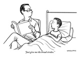 """""""Just give me the broad strokes"""" - New Yorker Cartoon"""