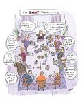 The Last Thanksgiving - Cartoon