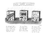 Failed Laundry Detergents - New Yorker Cartoon