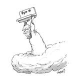 Zeus throwing the kitchen sink - New Yorker Cartoon