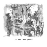 """""""I'll have a mead spritzer"""" - New Yorker Cartoon"""