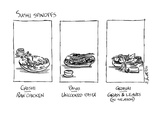 Sushi Spinoffs - New Yorker Cartoon