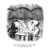 """Some men  Miss Hoffstetter  were born to lobby Yours truly is one of tho…"" - New Yorker Cartoon"