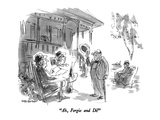 """Ah  Fergie and Di!"" - New Yorker Cartoon"