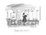 Leonardo Meets the IRS - New Yorker Cartoon