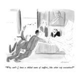 """""""Why can't I have a skilled team of staffers  like other top executives"""" - New Yorker Cartoon"""