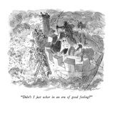 """Didn't I just usher in an era of good feeling"" - New Yorker Cartoon"