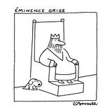 Éminence Grise - New Yorker Cartoon