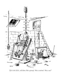 """""""If it's the IRS  tell them: Not a penny!  Not a centime!  Not a sou!"""" - New Yorker Cartoon"""