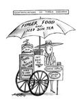 Gentrification of Times Square - New Yorker Cartoon