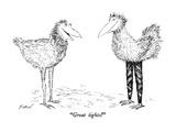"""Great tights!"" - New Yorker Cartoon"