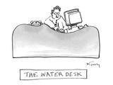 The Water Desk - New Yorker Cartoon