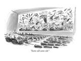 """Same old same old"" - New Yorker Cartoon"