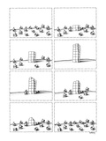 First panels shows a group of little houses In their midst  a tall buildi… - New Yorker Cartoon