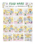 "Food Wars: ""Thrilla in Peekskilla"" - New Yorker Cartoon"