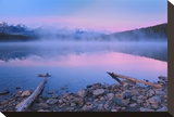 Fog at Dawn at Patricia Lake