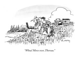 """Whoa! Move over  Thoreau"" - New Yorker Cartoon"