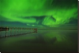 Northern Lights Reflected in Lake Winnipeg V