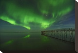 Northern Lights Reflected in Lake Winnipeg I