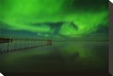 Northern Lights Reflected in Lake Winnipeg V