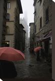 Volterra  Red Umbrellas