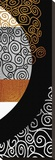 Meandering Swirls after Klimt