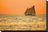 Orange Sky Sailboat