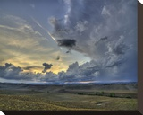 Val d'Orcia Sunset in Storm