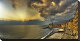 Camogli Sunset in Storm