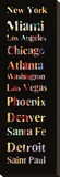 List of Cities I