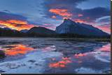 Mount Rundle Reflected in Vermillion Lake