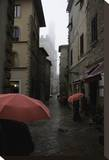 Volterra  Red Umbrellas