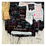 Museum Security (Broadway Meltdown), 1983 Giclée par Jean-Michel Basquiat