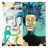 Dos Cabezas, 1982 Reproduction d'art par Jean-Michel Basquiat