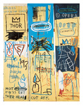 Charles the First, 1982 Giclée par Jean-Michel Basquiat