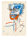 Untitled (Head of Madman), 1982 Giclée par Jean-Michel Basquiat