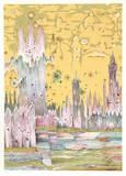 Londres Reproductions de collection premium par Risaburo Kimura