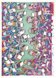 New York Reproductions de collection premium par Risaburo Kimura