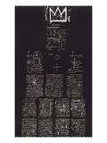 Tuxedo, 1982-83 Giclée par Jean-Michel Basquiat