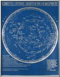 Constellations of the Northern Hemisphere (Blue)