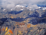 Wrangell Mountains (Aerial)  Wrangell-St Elias National Park  Alaska