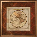 Red Damask Map I