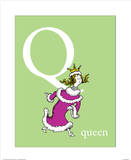 Q is for Queen (green)