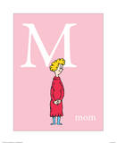 M is for Mom (pink)